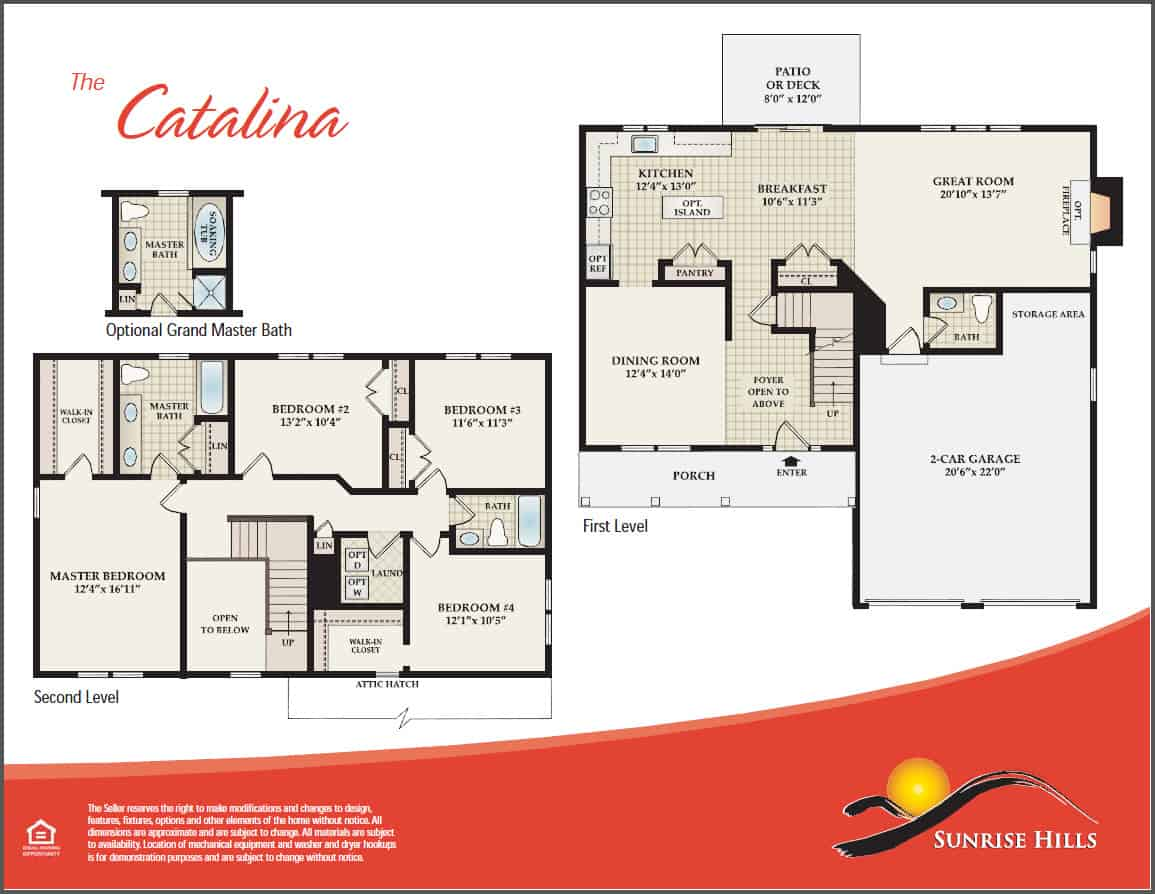 The Catalina Floor Plan