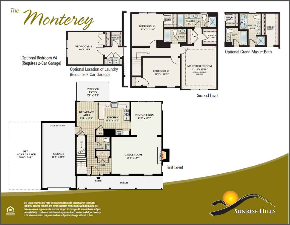 Middletown Ny New Home Floor Plans Orange County New