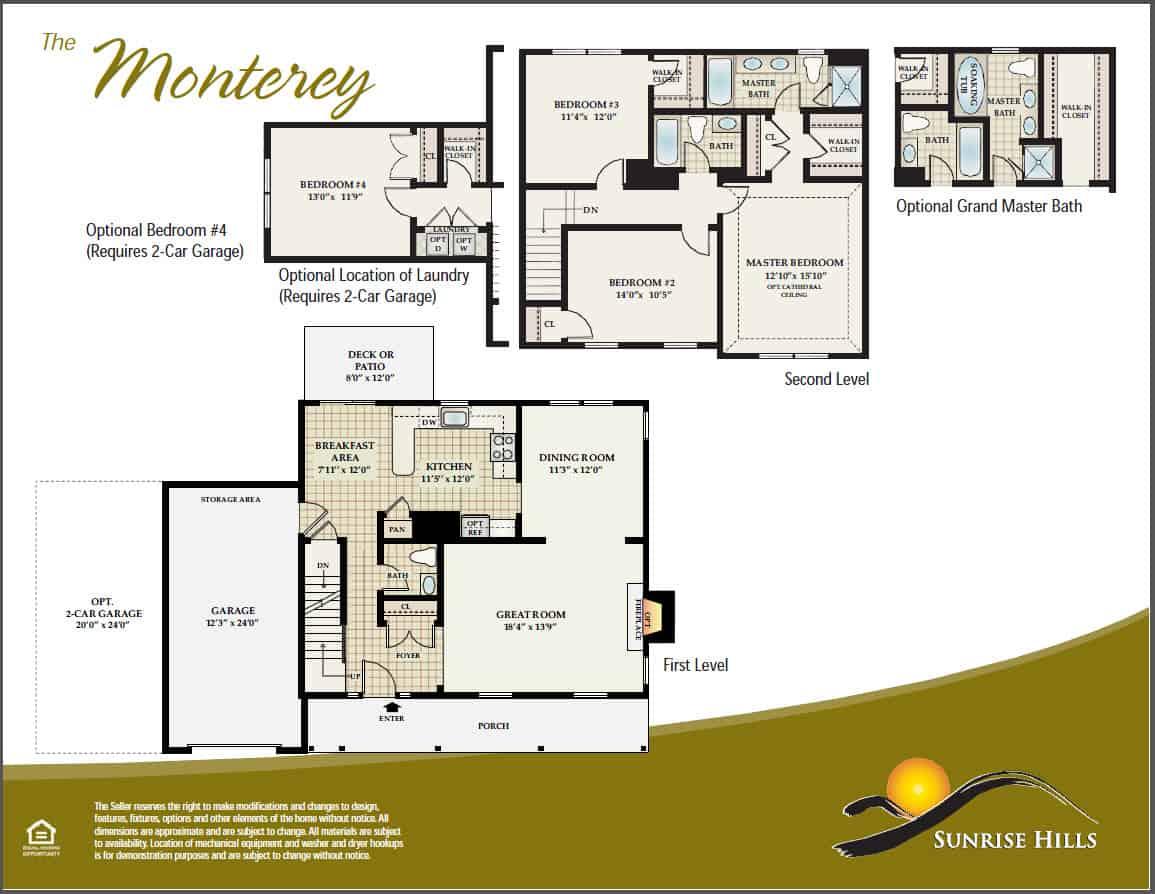 The Monterey Floorplan